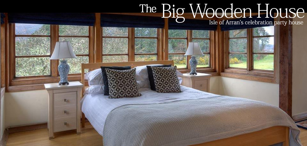 Luxury double room in the Big Wooden House