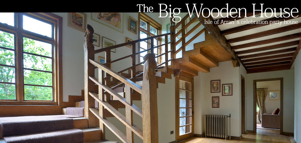 Contact the Big Wooden House self catering
