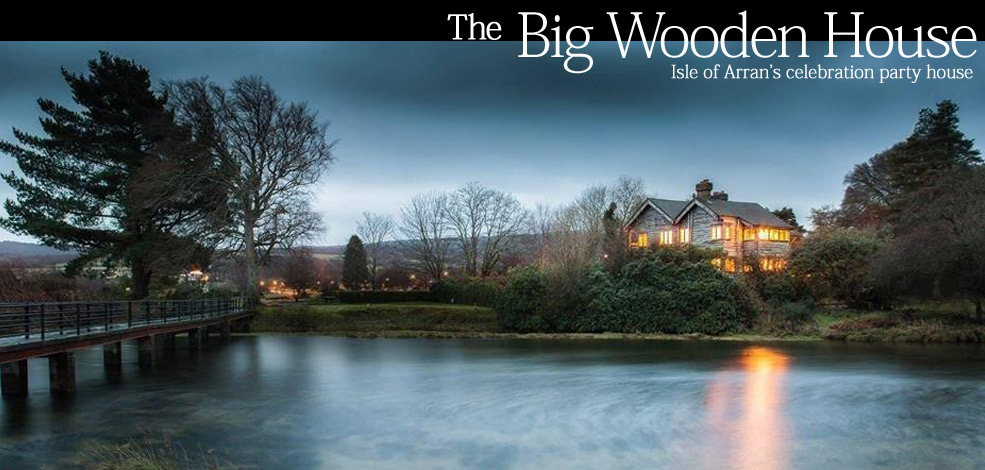 The Big Wooden House - group accommodation sleeps 10